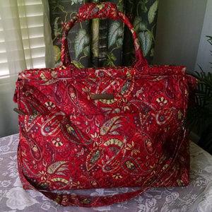 Large Cynthia Rowley Weekender Bag